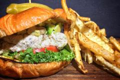Tuna Salad Sandwich and Fries